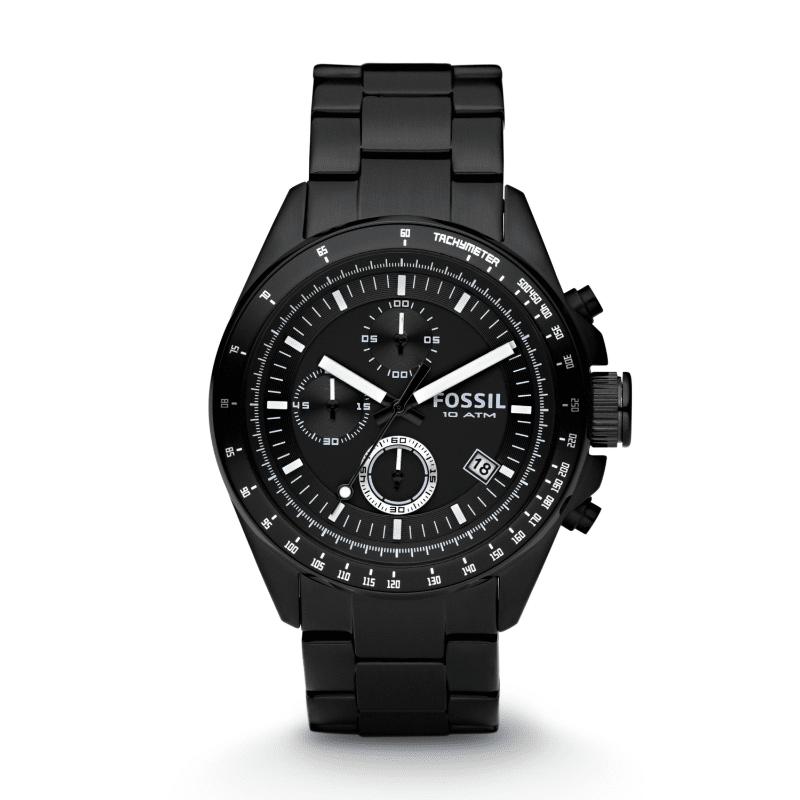 Fossil Decker Men s Watch Chronograph Black bf6cf53384