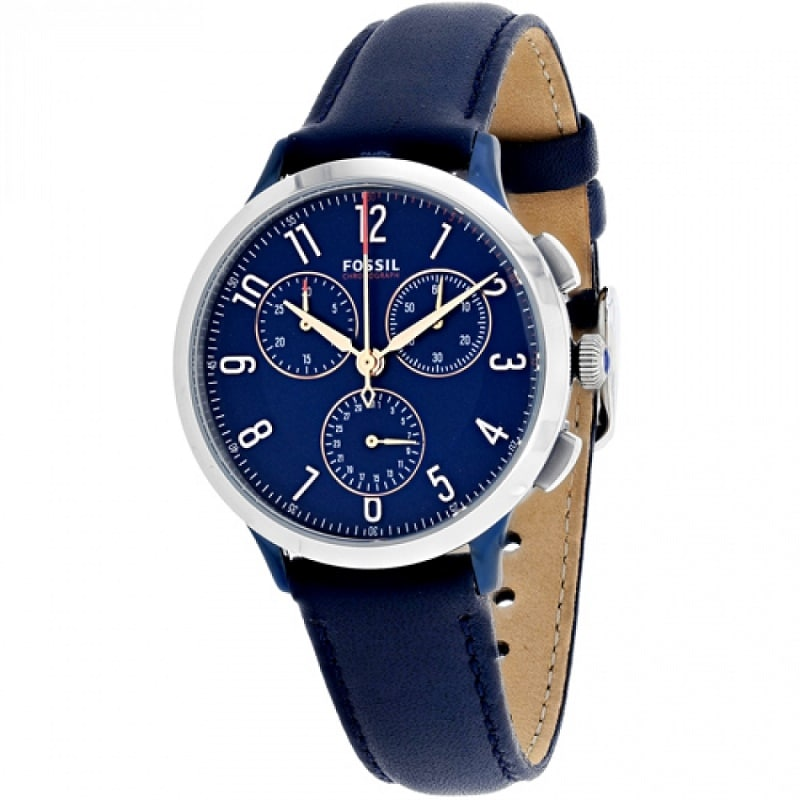 woman watch blue vintage band lady watches leather hugerect product retro bracelet girl unisex