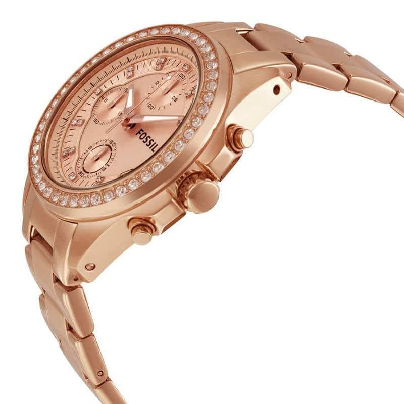 Fossil Decker Rose Gold Ladies Watch - Sunlab Malta a995dc9480