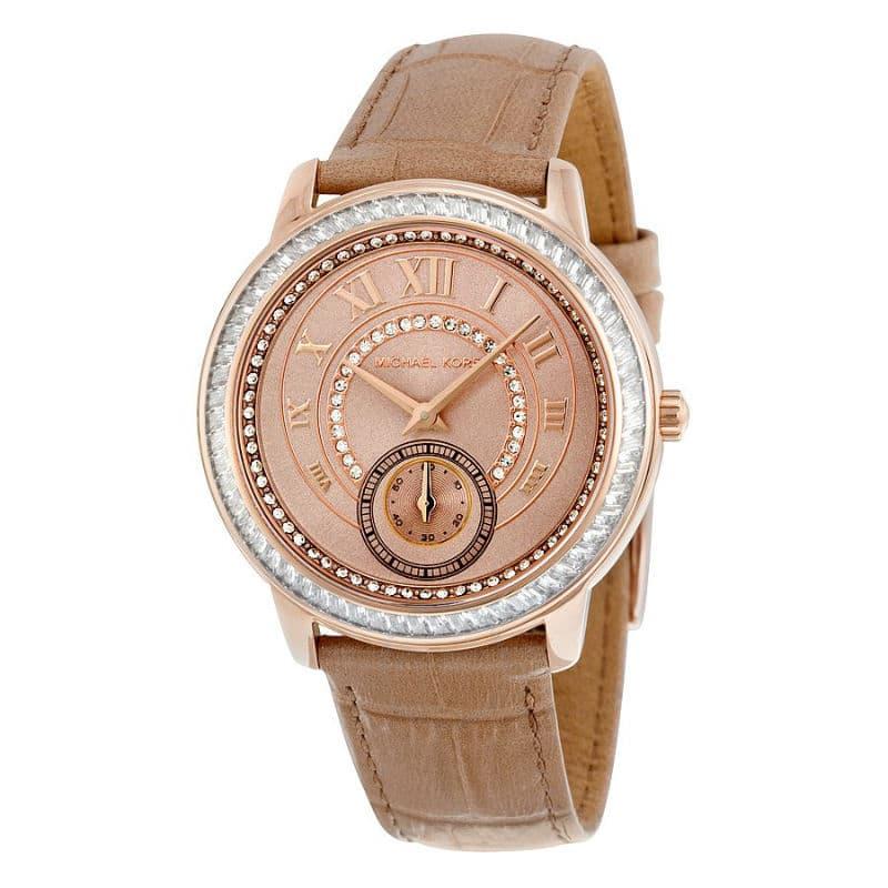 ba461270a731 Michael Kors Madelyn Rose Gold-Tone Watch Womens - Sunlab Malta