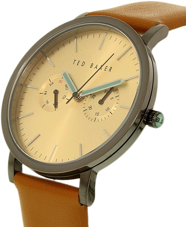 9c40e08c4f4de1 Ted Baker Brit Brown Leather Watch for Men
