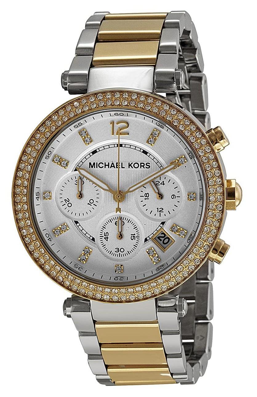 ffdbf97622bf Michael Kors Women s Parker Two-Tone Watch MK5626 - Sunlab Malta