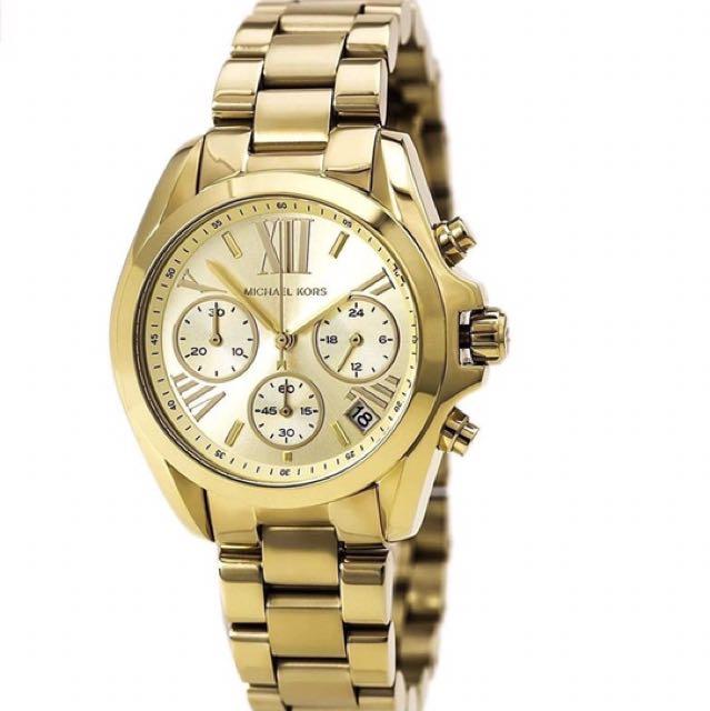 3a8fff0b2bcc Michael Kors Women s Bradshaw Gold-Tone Watch MK5798 - Sunlab Malta