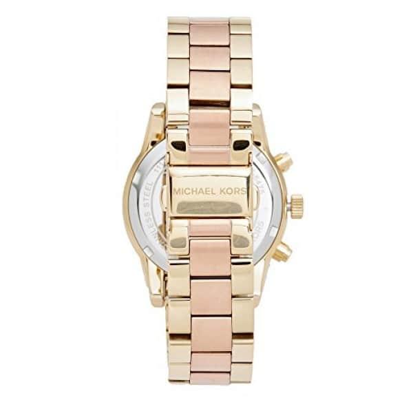 c5d73558c8de Michael Kors Ritz Rose Gold Dial Ladies Chronograph Watch