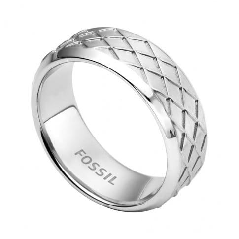 Fossil Mens Dress Ring Size 18 Jf02064040 Sunlab Malta