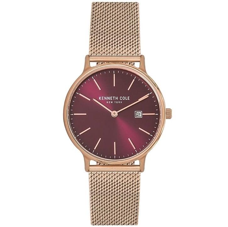 Kenneth Cole Classic Dark Red Watch for Women - Sunlab Malta 30edfab370