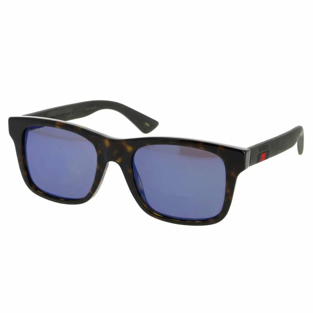 b22f2d54e6c Gucci Sunglasses Havana Brown Blue Unisex 0008S00353 - Sunlab Malta