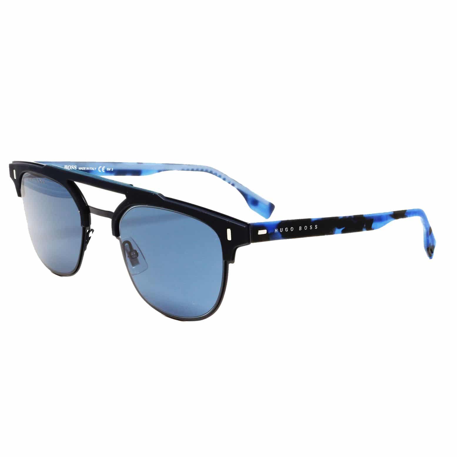 d94bf47554 Hugo Boss Blue Marble Sunglasses Men 0968 SFLL53A9 - Sunlab Malta