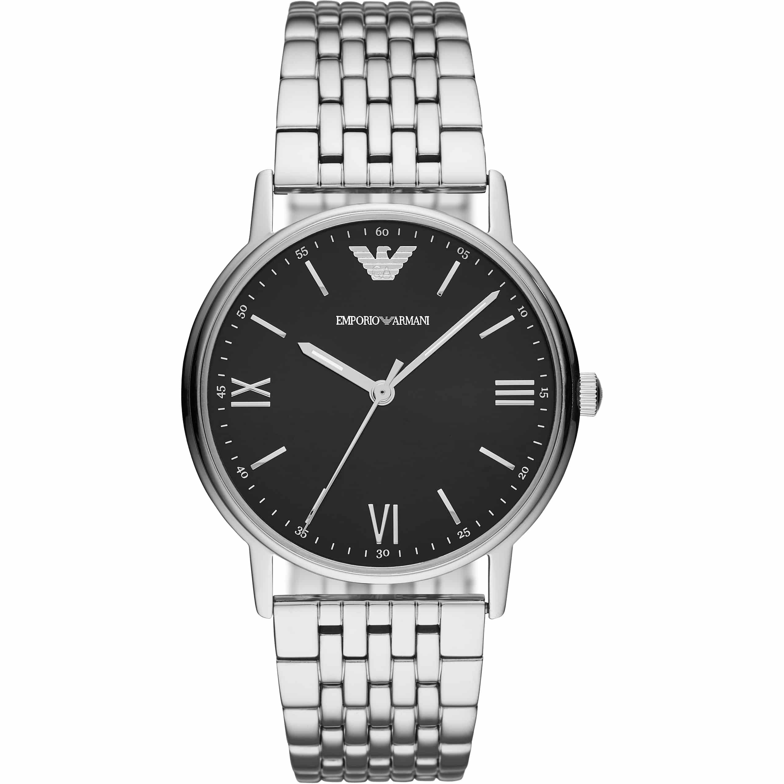 Emporio Armani Kappa Men s Watch Silver AR11152 - Sunlab Malta b18d85740d