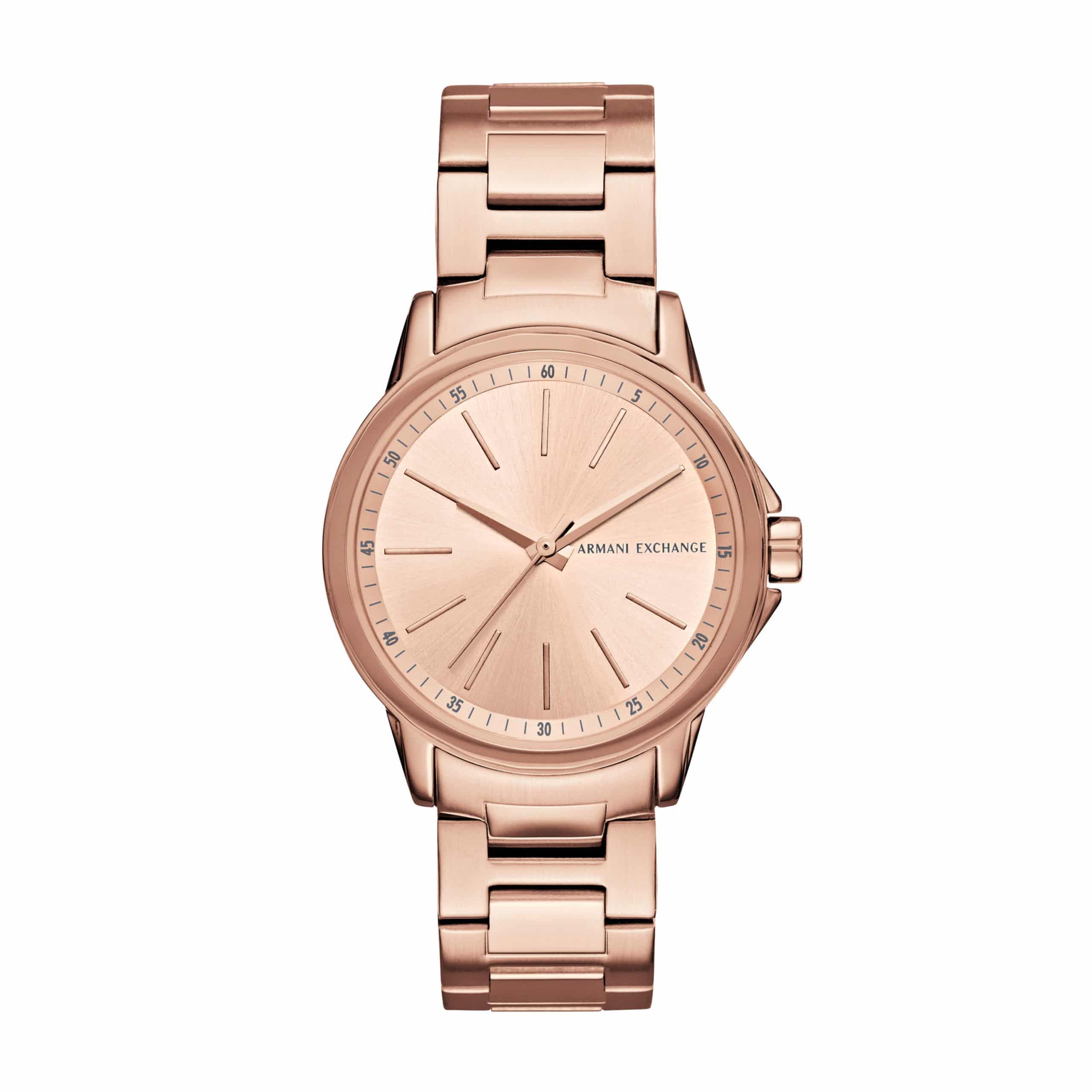 9f9a4f28420 Armani Exchange Lady Banks Women's Watch Rose Gold AX4347 - Sunlab Malta