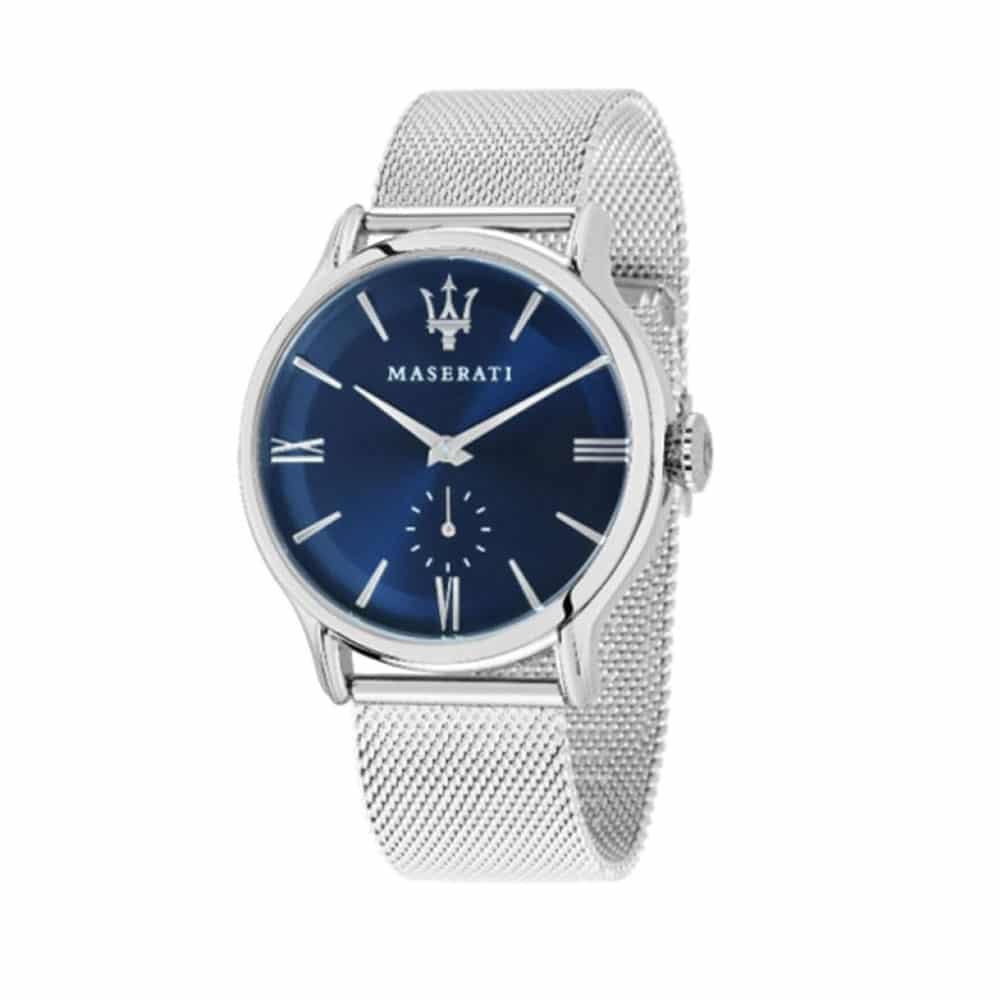 Maserati Epoca Men s Watch Silver Blue R8853118006 - Sunlab Malta 4781157922